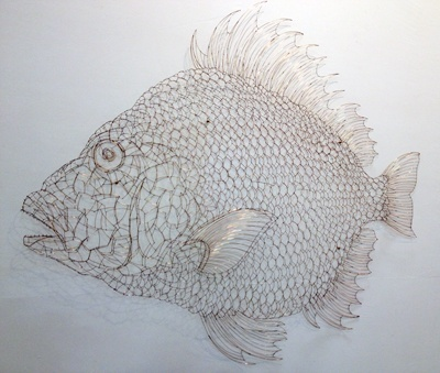 Kwangho-Cheong_The-fish_cooper-wire